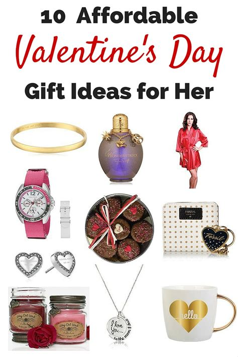 valentine s day gift ideas for her pinterest 10 affordable valentine s day gift ideas for her