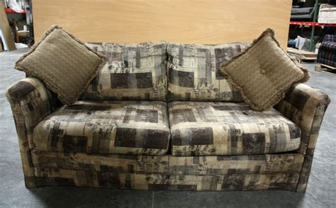 sofa pillows for sale rv furniture used rv cloth sleeper sofa with accent