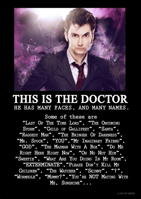 Meme Dr Who - the doctor doctor who know your meme