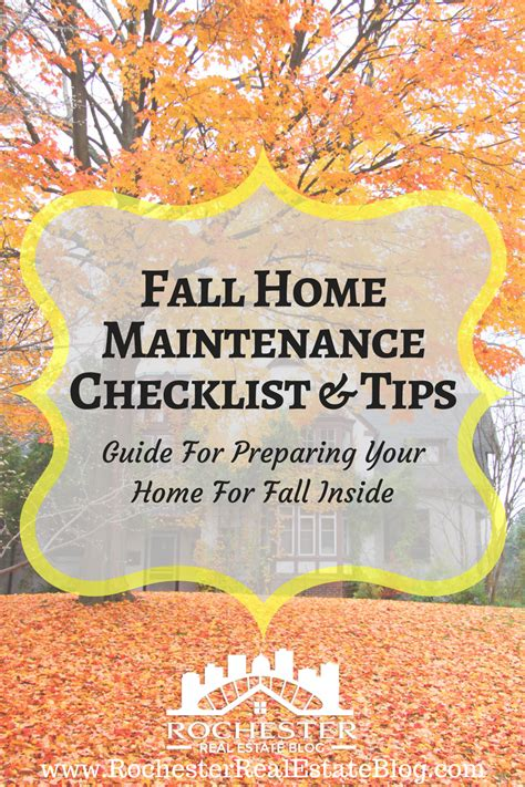 preparing your home for fall home maintenance checklist tips preparing your