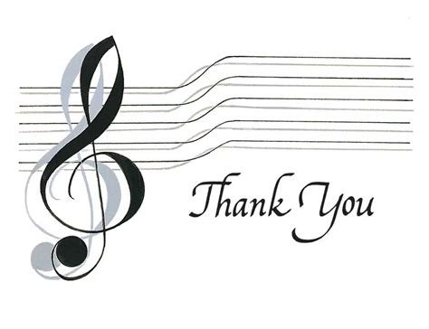 Thank You Letter To Singing Thank You Card Inspiring Musical Thank You Cards Free Animated Thank You Ecards Note