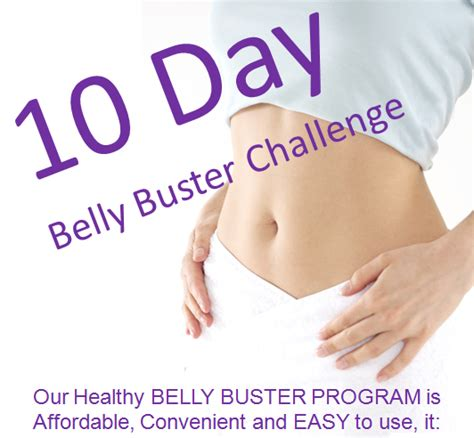 10 Day Detox Belly Buster by Fulham Wellness Centre 10 Day Belly Buster Challenge