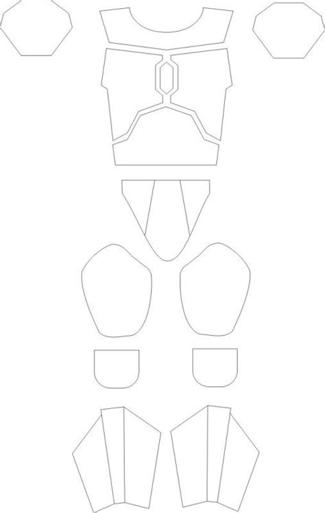 mandalorian armors and templates on armor templates wars diy