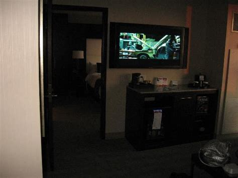 greektown room view of tv in living room picture of greektown casino hotel detroit tripadvisor