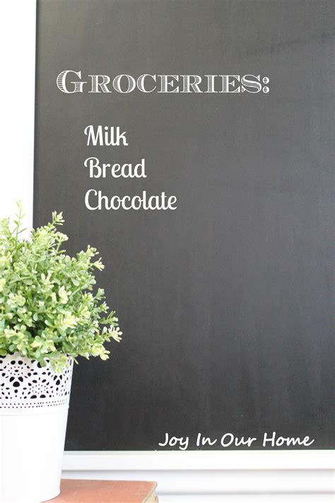 framed chalkboard for kitchen framed chalkboard for the kitchen in our home