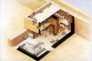 Artist s impression of a 1st century house in palestine showing