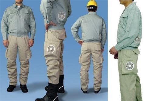 Air Conditioned Clothing Cool And Lame At The Same Time by 28 Hilarious And Weirdly Awesome Japanese Inventions