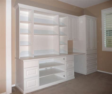 Desk Wardrobe Units by Wall Unit With Space For Electronics Tv Writing Desk And