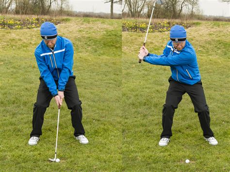 golf driver swing lie chipping method explained
