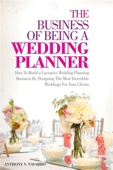 Wedding Planner Book Cover by Liven It Up Events Boutique Weddings Corporate Affairs