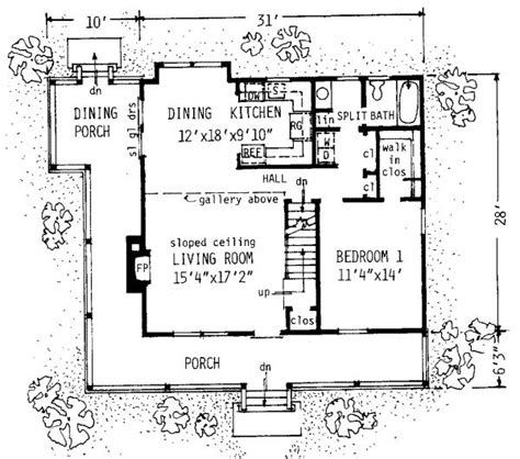 1300 square floor plan studio design gallery