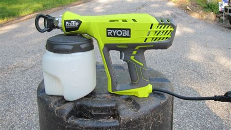 home depot paint sprayer ryobi ryobi protip paint sprayer tool ask the builderask the