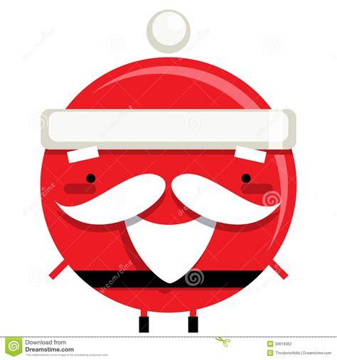 personaje de dibujos animados sonriente feliz de santa personaje de dibujos animados sonriente simple feliz del