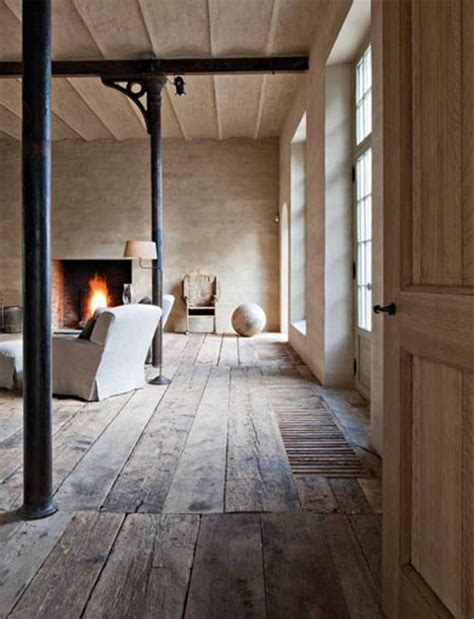 rustic living room with wood floor 187 inspired deco