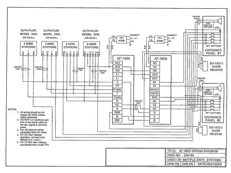 pacific af3600 diagram on intercom wiring wiring diagram