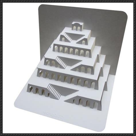 Paper Craft Square - papercraftsquare new paper craft tower of babel pop