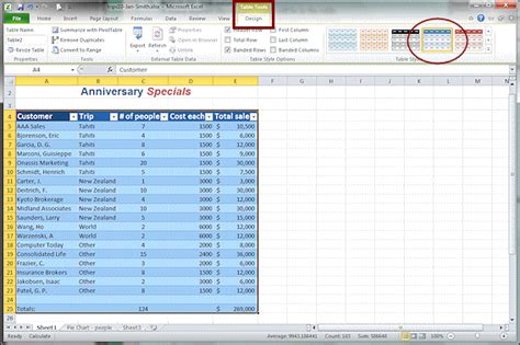 change table style excel change table style excel ms excel 2010 automatically
