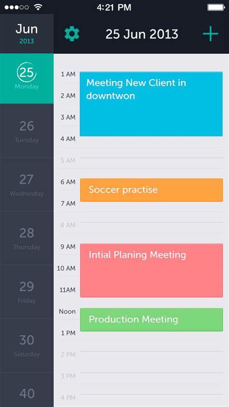 mobile user interface design 31 best timeline ui exles images on user