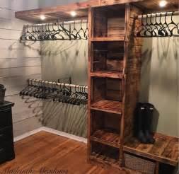 bedroom closet shelves best 25 rustic closet ideas only on rustic