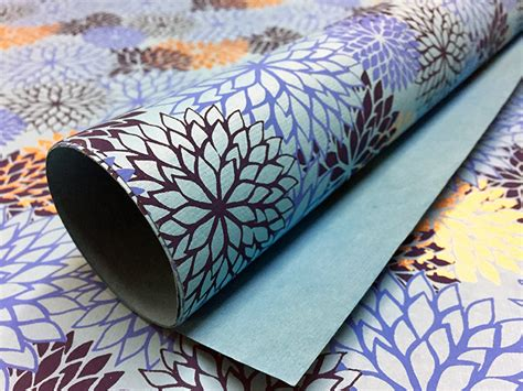 Handmade Paper India - tree free handmade papers made in india shp1109 blue