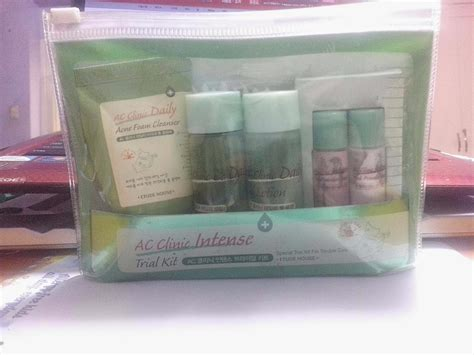 Etude Ac Clinic Trial Kit k riousity review etude house ac clinic trial kit