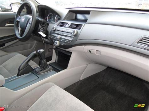 2009 honda accord lx p sedan gray dashboard photo
