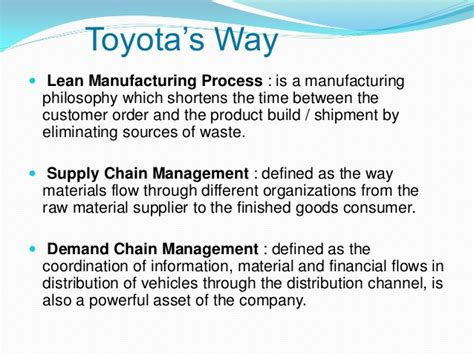 Construction Supply Chain Management Concepts And Studies 5in1 toyota supply chain management operation research