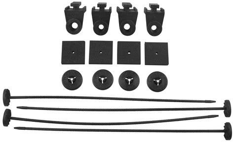 electric fan mounting kit derale electric fan mount kit with plastic rods and pads