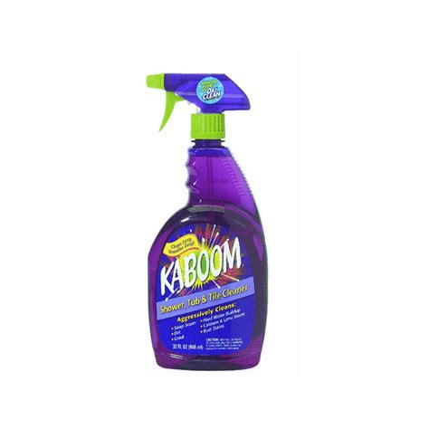 shower tile cleaner kaboom shower tub and tile cleaner review