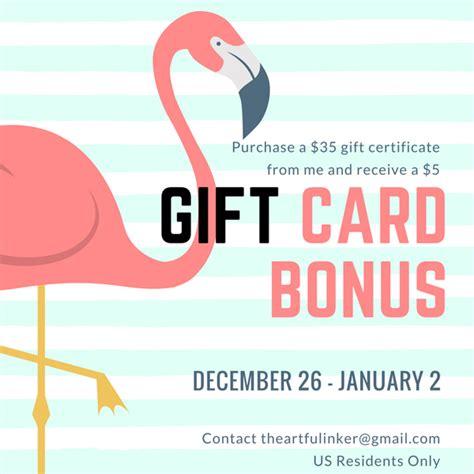Gift Card Bonus 2016 - free bonus