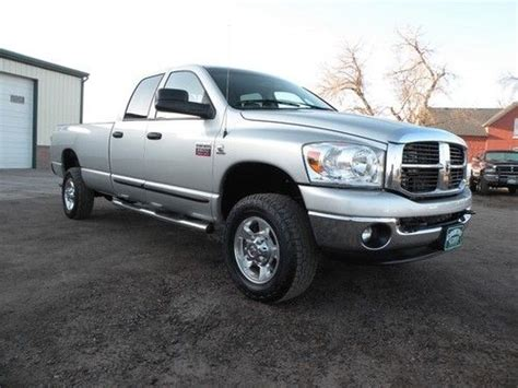 how to fix cars 2007 dodge ram 2500 engine control find used 2007 dodge ram 2500 slt heavy duty quad cab long bed automatic 4 door truck in fort