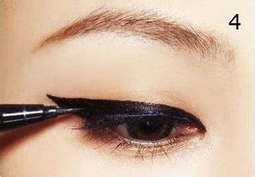 tutorial make up unik tutorial make up eyeliner ala korea saubhaya makeup