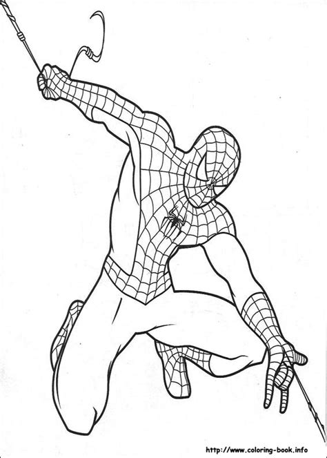 spiderman coloring pages on coloring book info 3163