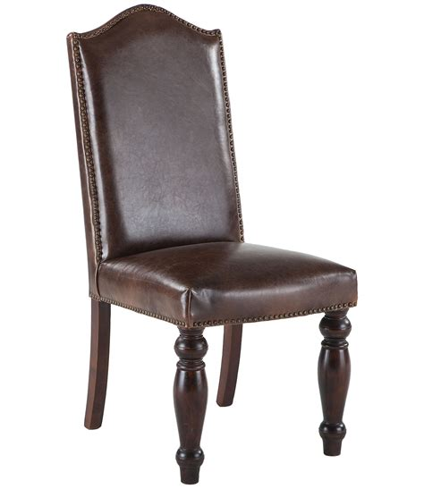 leather chairs for dining room leather dining room chairs with nailheads 187 dining room