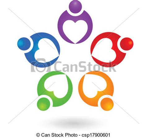 stock photo company 팀웍 협력 사람 로고 팀웍 협력 사람 벡터 디자인 csp17900601의 벡터 클립아트
