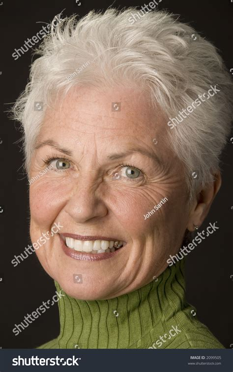 what causes 60 year old female to have thinning hair head shot beautiful 55 60 year fotka 2099505 shutterstock
