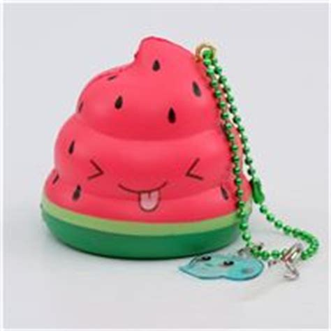 Squishy Monas scented watermelon mini poo faulty squishy by puni