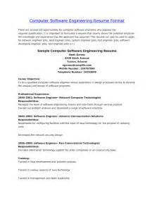 resume format for computer engineers