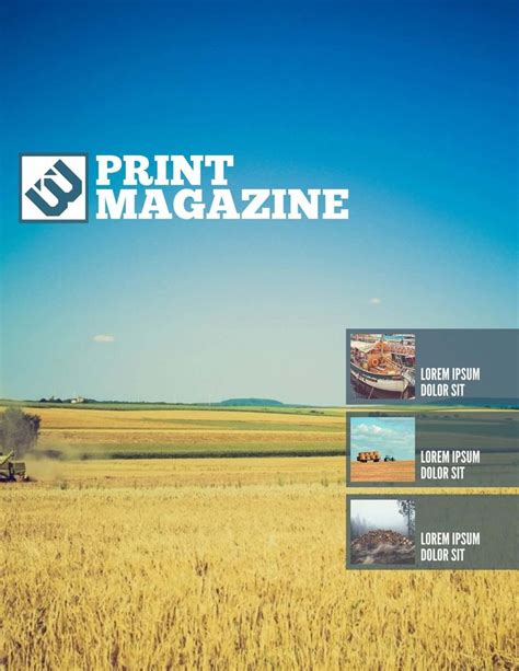 magazine layout templates free 28 best free magazine newsletter templates images on