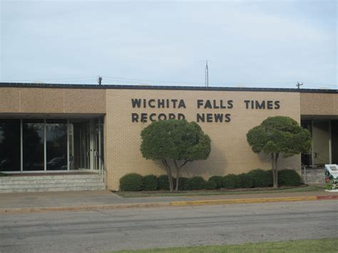 Wichita Falls Records File Wichita Falls Times Record News Office On Lamar Blvd Img 6930 Jpg