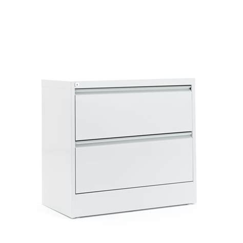 Lateral A4 Filing Cabinet 2 Drawers 800x425x740 Mm Grey Lateral Filing Cabinets Uk