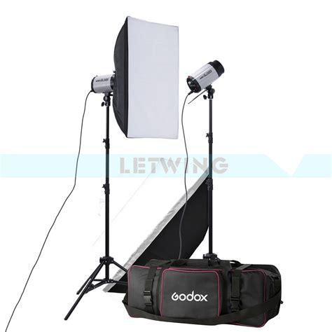 best home studio lighting kit godox 2x 250w studio flash lighting kit 500w strobe flash