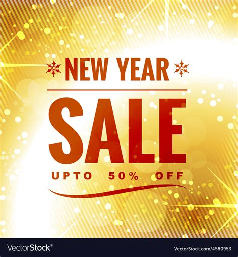 myer new year sale new year sale design royalty free vector image