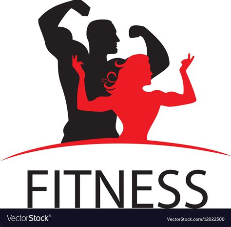 Fitness World Graphic 1 logo fitness royalty free vector image vectorstock