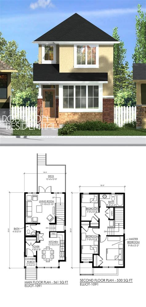 3 Story House Plans Small Lot by Narrow Lot 3 Story House Plans Floor Plans For House
