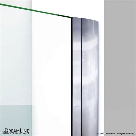 43 Inch Shower Door Dreamline Shdr 20427210c Unidoor 42 To 43 Inch Frameless Hinged Shower Door Shdr 20427210c 01