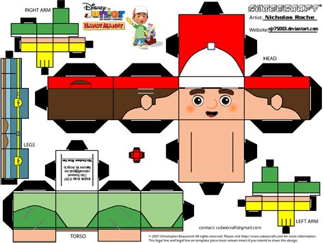 Papercraft Tools - cubee handy manny tools page 1 by njr75003 on deviantart