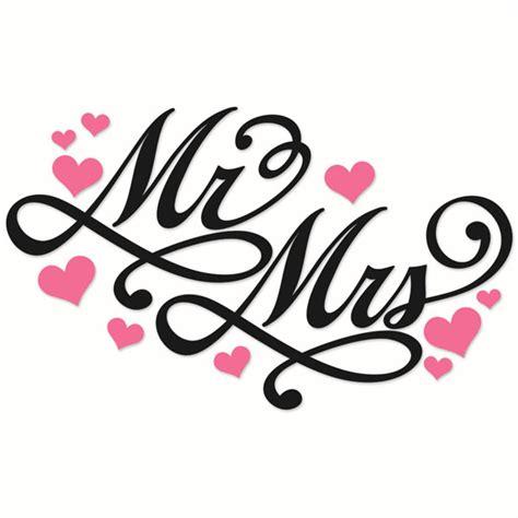 mr clipart mr and mrs wedding cuttable designs
