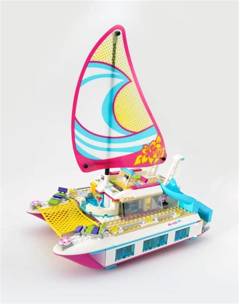 lego catamaran hull lego friends 41317 sunshine catamaran review brick fanatics