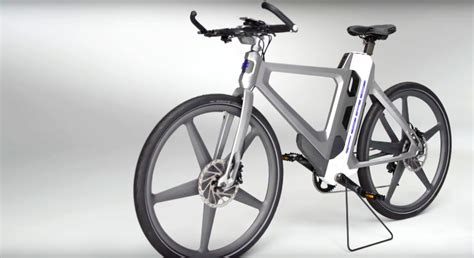 ford s mode flex electric bike folds in half to fit in